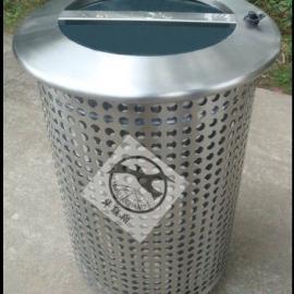 城市园林绿化垃圾桶冲孔网管供应商