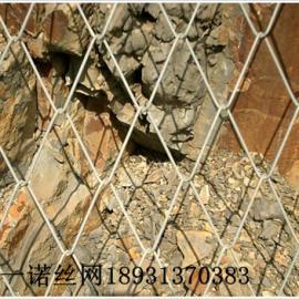 菱形铁丝网【江苏镀锌菱形网规格-边坡铁丝网价格