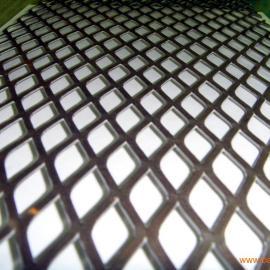 济宁白钢钢板网+矿井工作台重型钢板网-冲压板网厂家