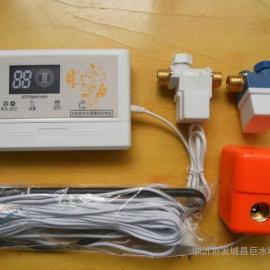 自动上水,水温水位显示,温控自动排空,聚仁仪表太阳能排空阀