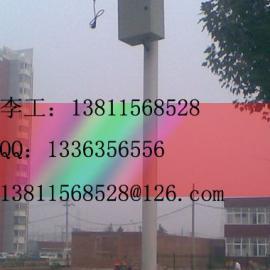 (小区、厂房监控杆)3m高,0.8m支臂监控杆