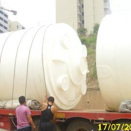 环保工程专用塑料水塔|钢衬塑立式储罐