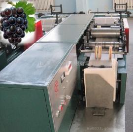 功能齐全机械手葡萄袋机(带印刷商标),新型万能葡萄果袋机