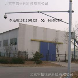 北京监控杆生产8米横臂道路监控杆