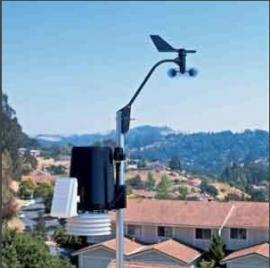 林业气象监控专用气象站美国DAVIS6162