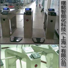 人体静电综合测试三辊闸,静电测试闸机
