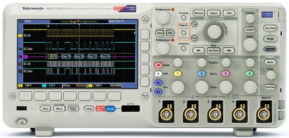 泰克-吉时利-函数信号发生器-数字示波器-泰克示波器