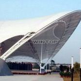 深圳广场膜结构遮阳篷