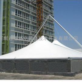 除臭设备,膜结构加盖除臭,反吊膜工程