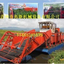 半自动水草收割船 小型水草收割机
