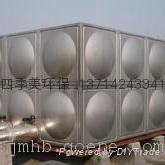 深圳屋顶24吨不锈钢消防水箱案例