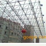 高性能不锈钢球型网架门楼