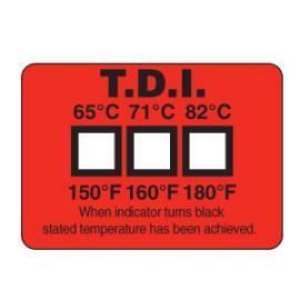 洗碗机温度标签 美国omega三格洗碗机用温度标签