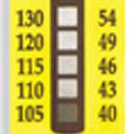 TL-5五格温度标签|美国omega五格不可逆温度标签