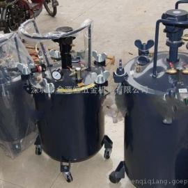 台湾气动工具 油漆压力桶 40升自动压力桶 喷漆枪 喷漆桶