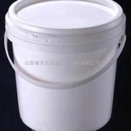 2.5L圆形塑料桶,2.5L大口注塑塑料桶