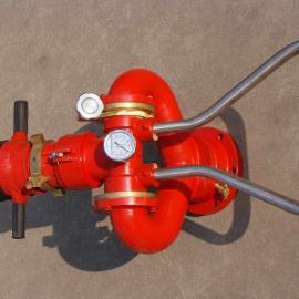 手动固定式消防水炮