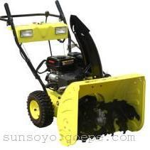 供应6.5马力汽油抛雪机、扬雪机
