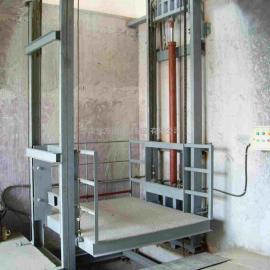 供应江门市导轨链条式升降机、电动液压升降机。