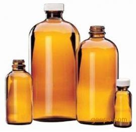 棕色玻璃瓶,采样瓶,PTFE聚四氟乙烯内垫1000ml
