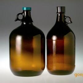 棕色玻璃瓶,采样瓶,PTFE聚四氟乙烯内垫2500ml