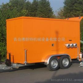 德国进口应急移动排水泵车
