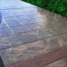 安徽合肥压印地坪-彩色混凝土压印地坪