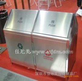 不锈钢垃圾桶A5217/垃圾桶/垃圾箱/垃圾筒/分类垃圾桶/户外垃圾桶