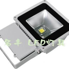 户外LED投光灯 80wLED泛光灯 LED广告灯