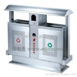 不锈钢垃圾桶A5205/垃圾桶/垃圾箱/垃圾筒/分类垃圾桶/户外垃圾桶