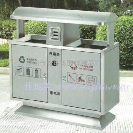 不锈钢垃圾桶A5210/垃圾桶/垃圾箱/垃圾筒/分类垃圾桶/户外垃圾桶