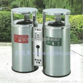 不锈钢垃圾桶A5207/垃圾桶/垃圾箱/垃圾筒/分类垃圾桶/户外垃圾桶