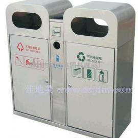 不锈钢垃圾桶A1073/垃圾桶/垃圾箱/垃圾筒/分类垃圾桶/户外垃圾桶