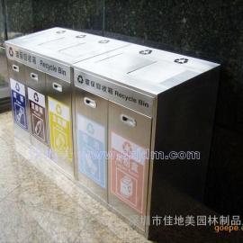 不锈钢垃圾桶A1069/垃圾桶/垃圾箱/垃圾筒/分类垃圾桶/户外垃圾桶