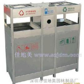 不锈钢垃圾桶A1079/垃圾桶/垃圾箱/垃圾筒/分类垃圾桶/户外垃圾桶