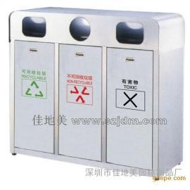 不锈钢垃圾桶A1081/垃圾桶/垃圾箱/垃圾筒/分类垃圾桶/户外垃圾桶