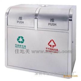 不锈钢垃圾桶A1086/垃圾桶/垃圾箱/垃圾筒/分类垃圾桶/户外垃圾桶