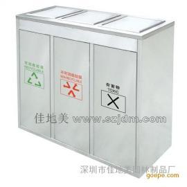 不锈钢垃圾桶A1084/垃圾桶/垃圾箱/垃圾筒/分类垃圾桶/户外垃圾桶