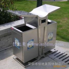 不锈钢垃圾桶A1090/垃圾桶/垃圾箱/垃圾筒/分类垃圾桶/户外垃圾桶