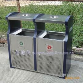 不锈钢垃圾桶A5215/垃圾桶/垃圾箱/垃圾筒/分类垃圾桶/户外垃圾桶