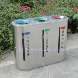 不锈钢垃圾桶A1088/垃圾桶/垃圾箱/垃圾筒/分类垃圾桶/户外垃圾桶