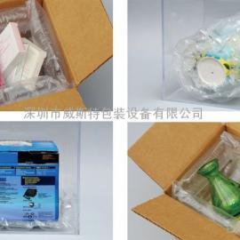 供应深圳热销纸箱空隙填充气泡