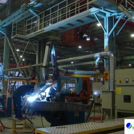 工业焊烟中央处理系统