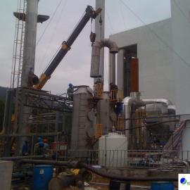 工业焊烟中央处理系统安装现场