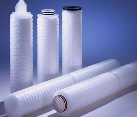 聚丙烯折叠滤芯 聚丙烯膜微孔折叠滤芯 PP膜滤芯 10寸折叠滤芯