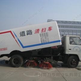 江铃道路清扫车 小型扫路车 江铃马路清扫车