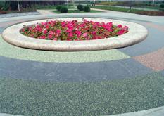 露骨料透水地坪―透水砼广场