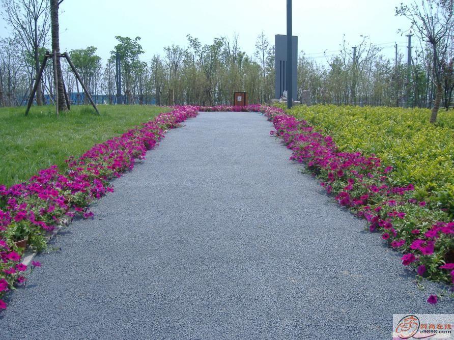 上海北京透水混凝土-艺术透水路面-彩色艺术地坪