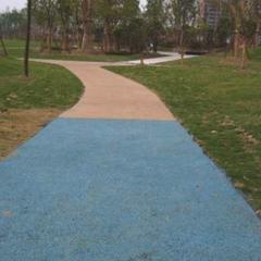 长期供应吉林黑龙江市政生态透水混凝土-彩色艺术透水地坪价格
