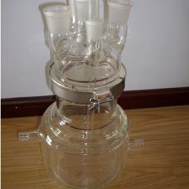 小型平底反应釜,武汉玻璃反应釜